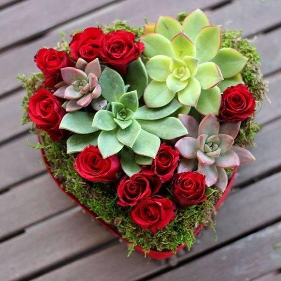 Композиции из живых из цветов красивые
