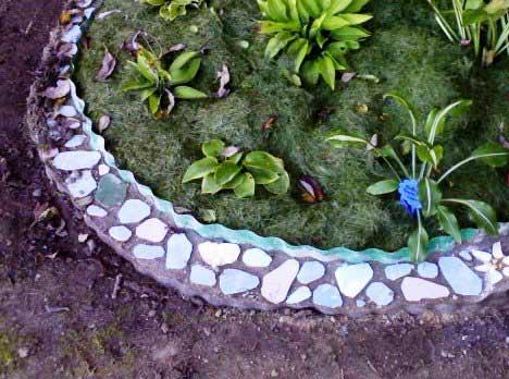 Бордюрная мозаика